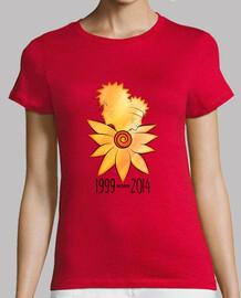 héros à neuf queues - t-shirt femme