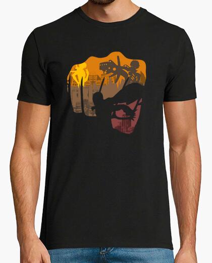 Tee-shirt héros coup de poing