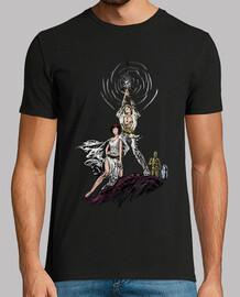 héros de puissance lumières t-shirt