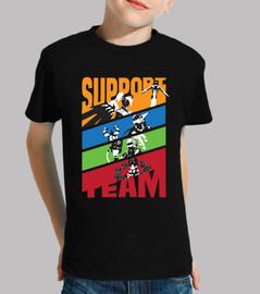 héros: équipe de soutien