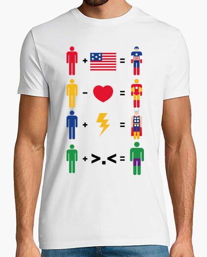 Tee-shirt héros simples