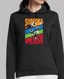 héros: soutien de l'équipe