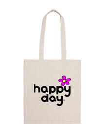 heureux day - fleur rose