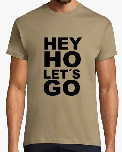 Camiseta Hey ho lets go