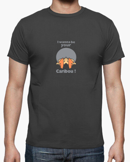 Hg / i wanna be your caribou by stef t-shirt