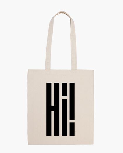 Bolsa Hi!  Hola!