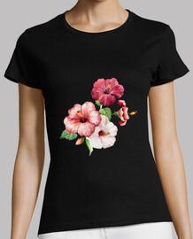 Hibiscus rosados