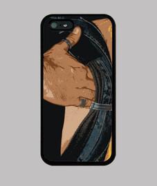 hidden hand cover iphone 5