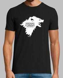 Hienas are coming (blanco)