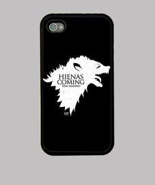 Hienas are coming (blanco) Móvil