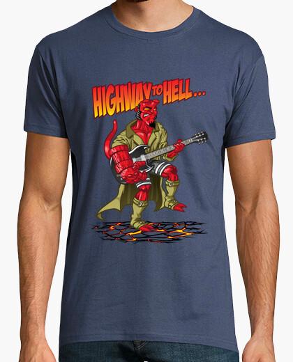 Tee-shirt Highway to hell(boy)