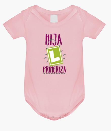 Ropa infantil Hija primeriza, Body bebé, rosa