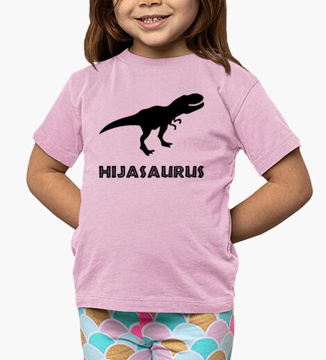 Ropa infantil Hijasaurus, Fondo Claro
