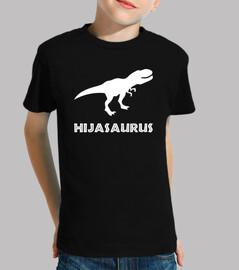 hijasaurus, girl (dark background)