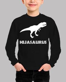 Hijasaurus, Niña (Fondo Oscuro)