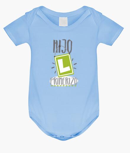 Ropa infantil Hijo primerizo,Body bebé, azul cielo