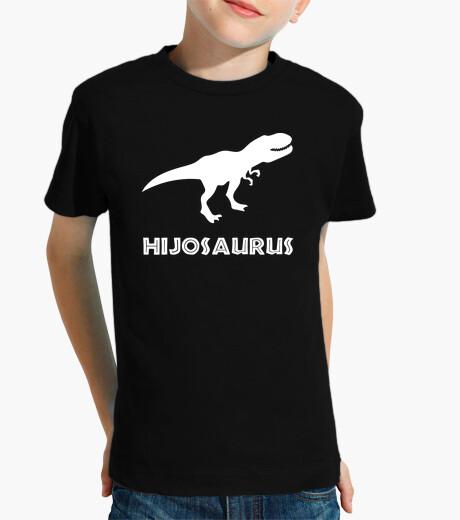Ropa infantil Hijosaurus (Fondo Oscuro)