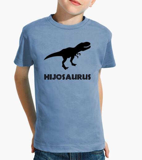 Ropa infantil Hijosaurus, Niño (Fondo Claro)