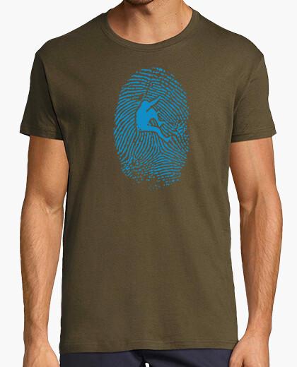 Camiseta Hiker Fingerprint Hombre