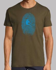 hiker fingerprint man