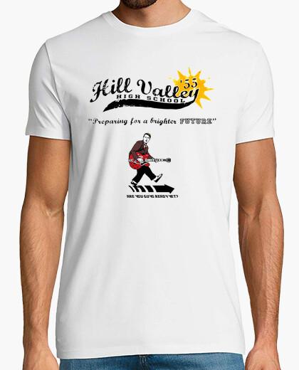 Camiseta Hill Valley High School 1955 (Regreso Al Futuro)