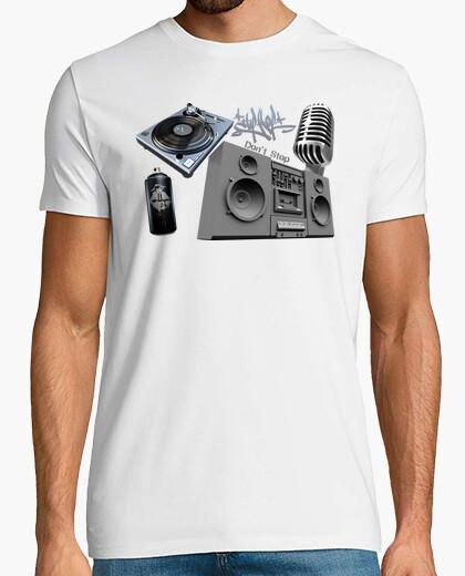 Camiseta Hip Hop Don't Stop (El Hip Hop No Se Detiene)