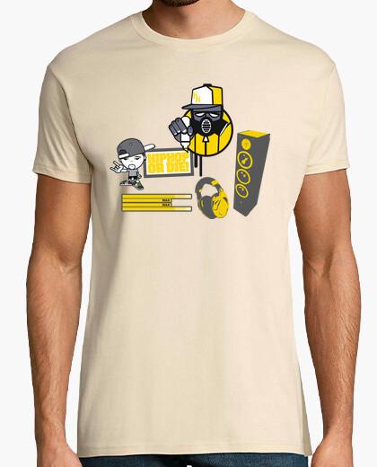 Camiseta Hip Hop Or Die!