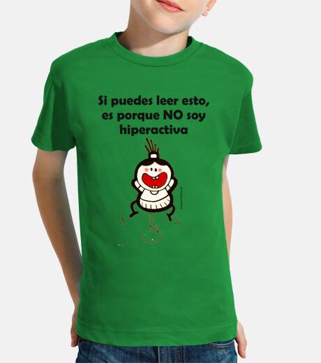 Camiseta Hiperactiva