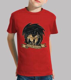 Hipo - Camiseta Infantil Roja