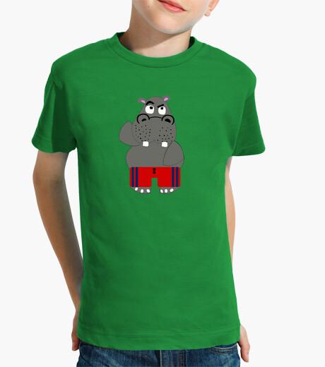 Ropa infantil hipopótamo