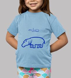 Hipopótamo (azul)
