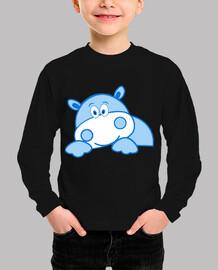 Hipopótamo feliz