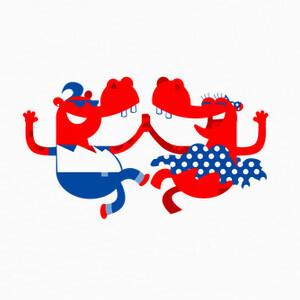 T-shirt hipopótamos inconformista