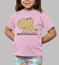 Hipotenocha básica grande niña manga corta