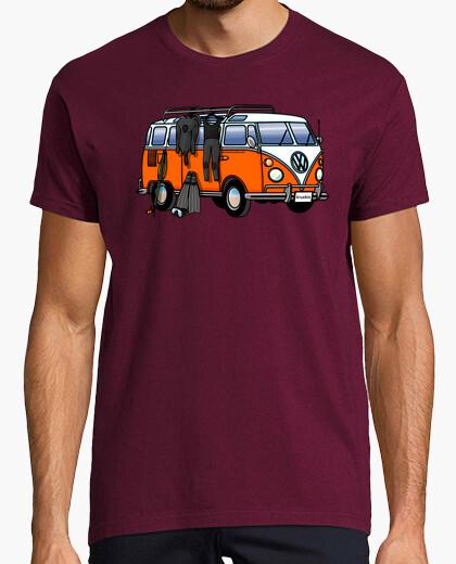 Camiseta Hippie Van Spearfish Hombre