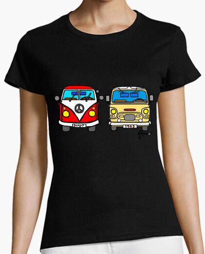T-shirt hippie vs sava