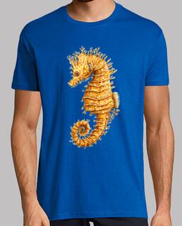 hippocampo seepferd camiseta hombre
