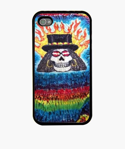 Funda iPhone Hippy skull