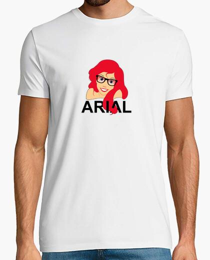 Hipster ariel arial t-shirt