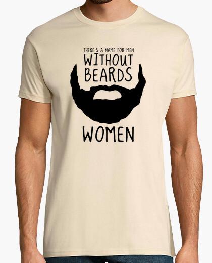 T-shirt Hipster barba