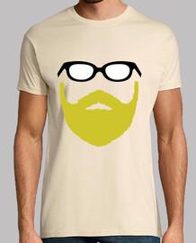 Hipster Beard Face