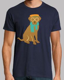 Hipster chien