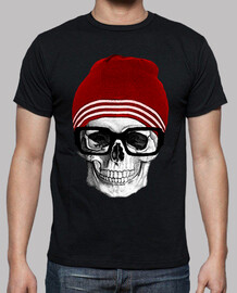 hipster .cooltee skull only available on a lathe