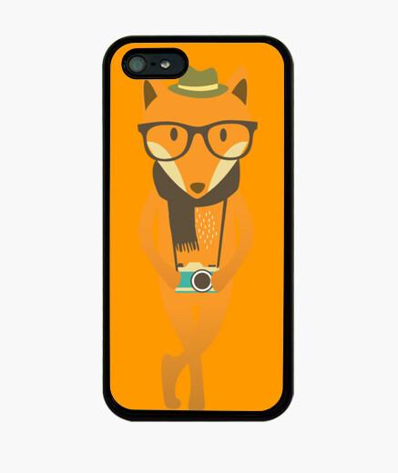 Funda iPhone Hipster fox