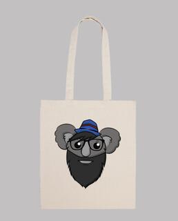 hipster koala - bolsa stoff
