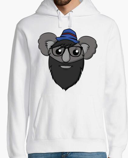 Hipster Koala - Hoodie Man hoody