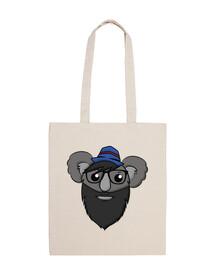 Hipster Koala - Sac en Tissu