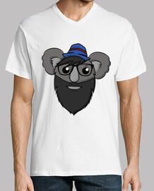 hipster koala - spitze geschlossen