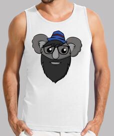 Hipster Koala - Without Sleeve Man