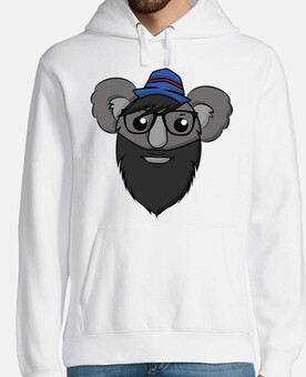 Hipster Koala - Sweat-Shirt Homme